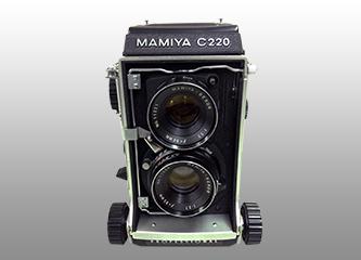 マミヤ 二眼レンズカメラ
